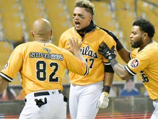 El Equipo de las Águilas derrotan a Toros y pasan a  la Serie Semifinal de la Liga Dominicana de Béisbol Otoño Invernal.