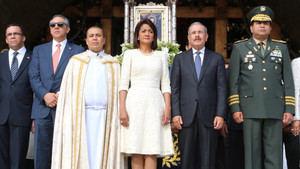 Pareja presidencial participa en eucaristía con motivo del Día de La Altagracia