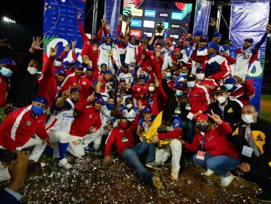 Águilas Cibaeñas de República Dominicana ganan la Serie del Caribe 2021