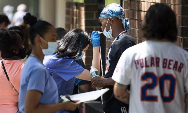 Nueva York, preocupado por el aumento de la tasa de casos de coronavirus