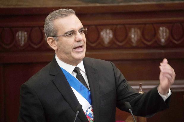 En la imagen, el presidente de República Dominicana, Luis Abinader.