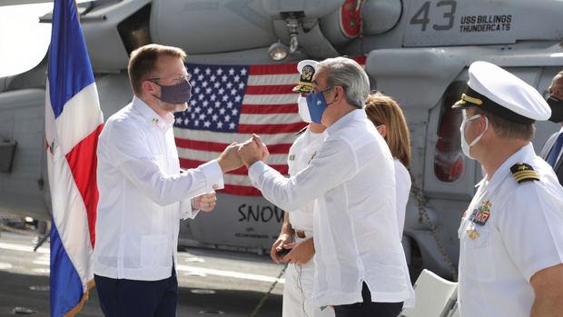 Presidente Abinader destaca las excelentes relaciones entre RD y EE. UU.