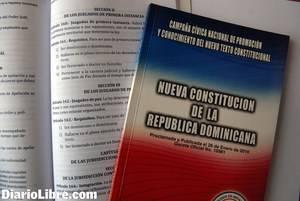 Constitución dominicana.