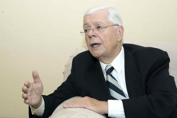 Fotografía de archivo fechada el 17 de mayo de 2019 que muestra al excanciller de Nicaragua Francisco Aguirre Sacasa (1997-2002).