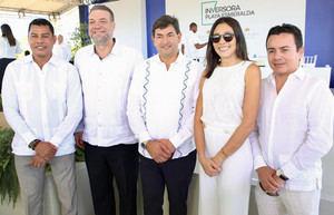 Ejecutivos de Apple Leisure Group (ALG), por inicio de construcción de hoteles Secrets Playa Esmeralda Punta Cana y Dreams Playa Esmeralda Punta Cana, en Miches.