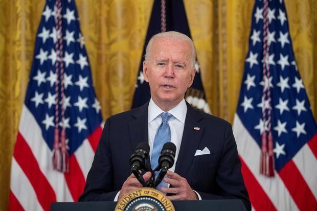 En la imagen, Joe Biden, presidente de EE.UU.