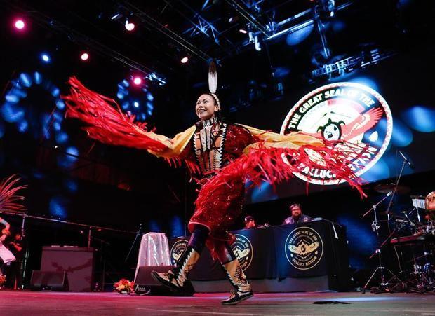 Vista general de la inauguración del 47 Festival Internacional Cervantino en el estado de Guanajuato, México.
