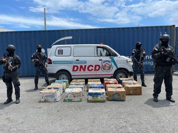 Ocupan 862 paquetes de cocaína en dos operaciones en Puerto Caucedo
