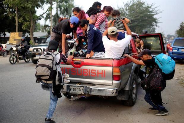 Migración de Centroamérica, el