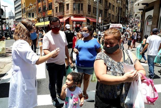 Brasil supera las 186.000 muertes y los 7,2 millones de casos de coronavirus