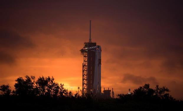 Todo listo para la misión espacial Demo-2 pese a las inclemencias del clima