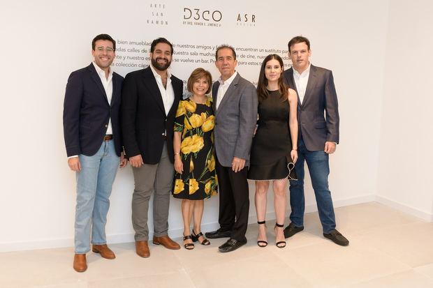 Maeno Gómez Casanova, Ramón Emilio Jiménez, Susy Gúzman, Sergio Ferreira, Amanda Ferreira y Javier Hevia