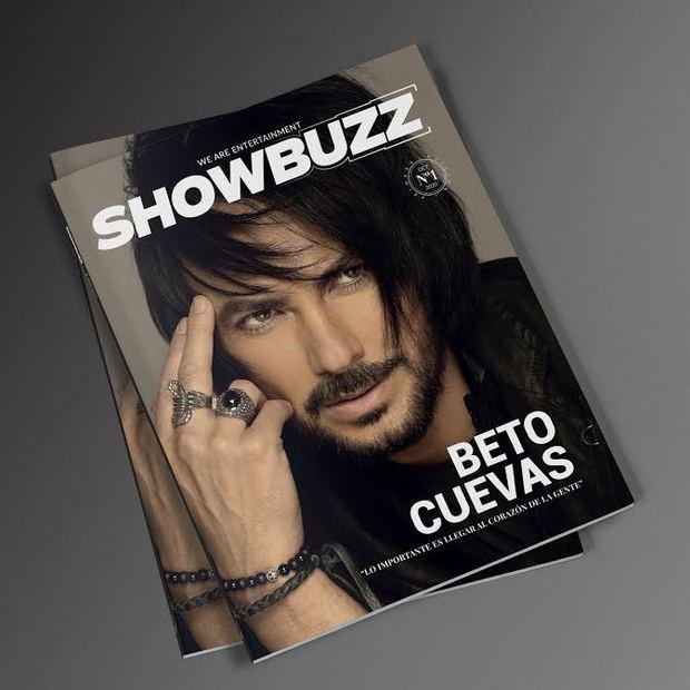 Portada Revista Showbuzz.