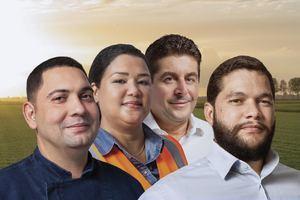 Foto de campaña.