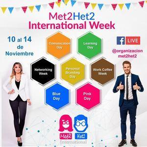 Invitación al Met2 Het2 International.