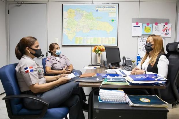 La Procuraduría General y Policía Nacional coordinan acciones para enfrentar casos de violencia de género