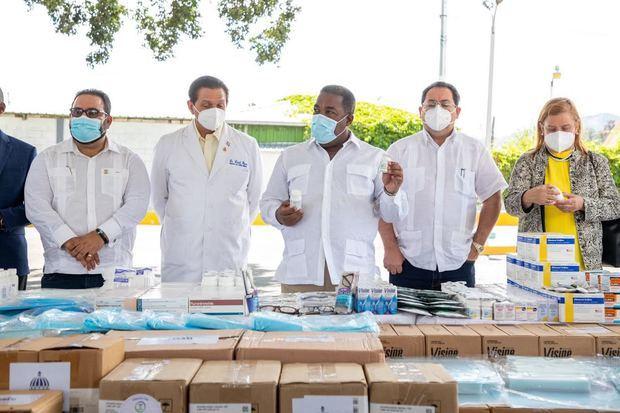 Gabinete de Política Social canaliza más de 40 millones de pesos en medicamentos e insumos médicos en La Vega
