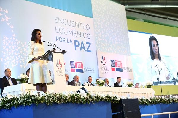Organismos e iglesias se unen en un acto por la paz en el país