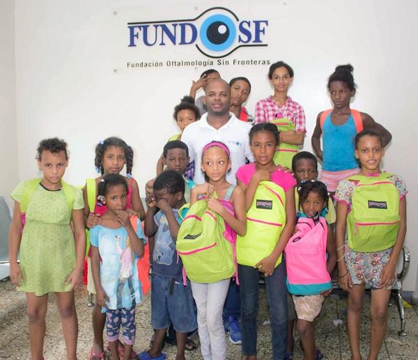 Niños beneficiados