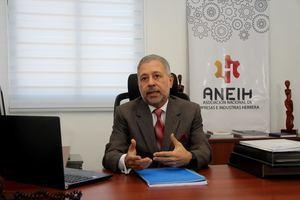 presidente de la  Asociación Nacional de Empresas e Industrias Herrera, ANEIH, Ing. Leonel Castellanos Duarte.
