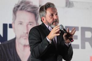 En la imagen el cantautor Ricardo Montaner.