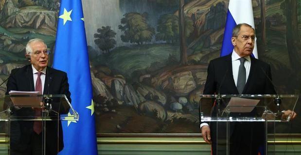 Rusia y UE defienden el diálogo pero chocan por el caso Navalni