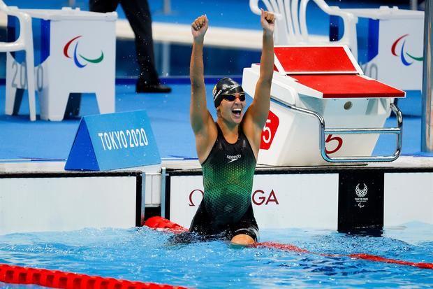Michelle Alonso revalida su corona paralímpica con récord del mundo