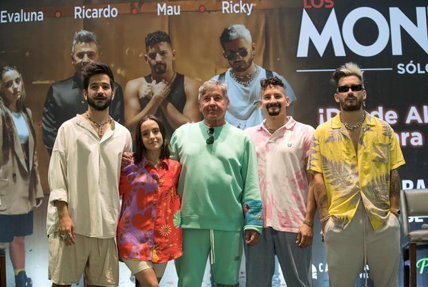Los Montaner ya están listos para su concierto familiar en República Dominicana
