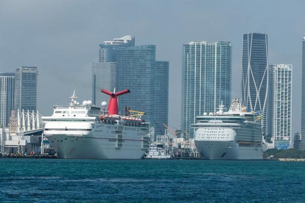 Carnival aspira a reanudar cruceros en Florida y Texas en julio