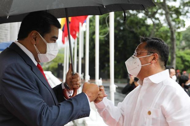 Maduro se reúne con su homólogo de Bolivia previo a la cumbre de la ALBA