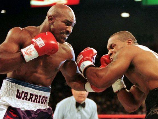 Holyfield se entrena, alimenta especulaciones de pelea con Tyson.