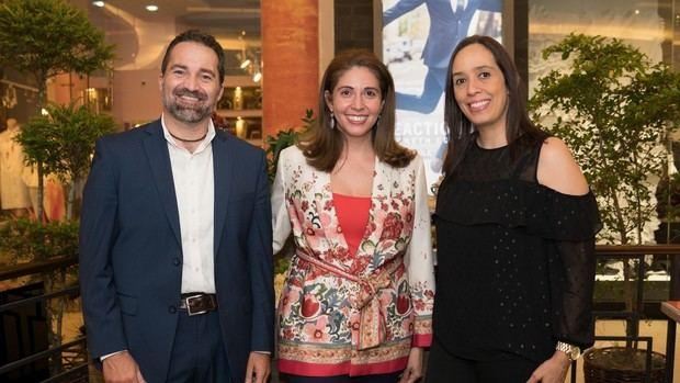 Thomas Sartori, Silvia Rosales, Madelin Rodríguez.