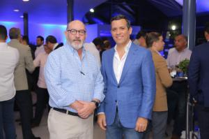 Eduardo Domínguez y Fortunato Canaán