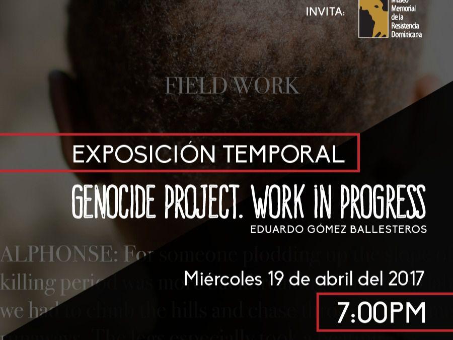 Museo Memorial presenta Exposición Temporal Internacional GENOCIDE PROJECT