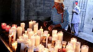 El presidente Danilo Medina se unió al pueblo dominicano en víspera de la festividad de Nuestra Señora de la Altagracia.