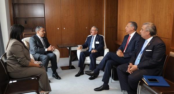 Danilo Medina participa en varias reuniones en el marco de 73 Asamblea General ONU