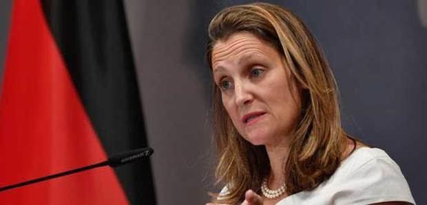 Canadá dice que sólo apoyará una transición pacífica en Venezuela