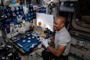 Astronauta estadounidense Victor Glover.