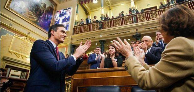 Sin sorpresas pero con mucha polémica y crispación: Sánchez, presidente del Gobierno