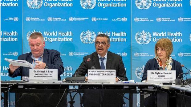 El director general de la Organización Mundial de la Salud (OMS), Tedros Adhanom Ghebreyesus,.