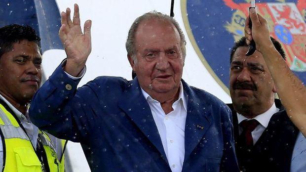 Rey emérito Juan Carlos !.