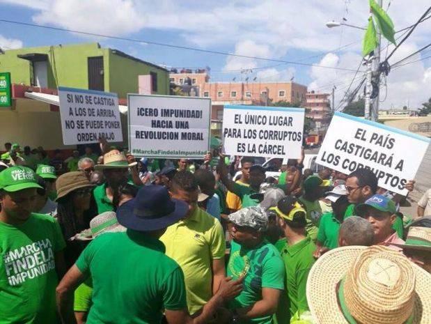 Marcha Verde plantea recuperar dinero Odebrecht para invertirlo en barrios