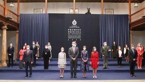 Entrega de los Premios Princesa de Asturias.