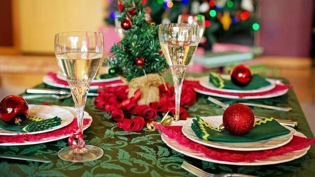 Cena de Navidad.-