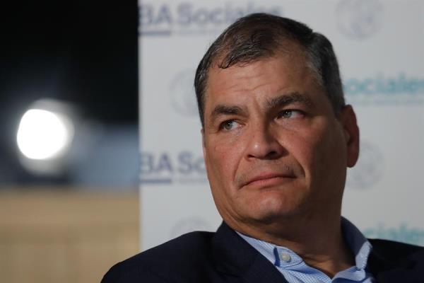 """La Internacional Progresista, """"alarmada"""" por la suspensión de partido afín a Correa"""