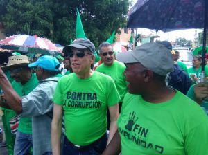 Max Puig en la Marcha Verde