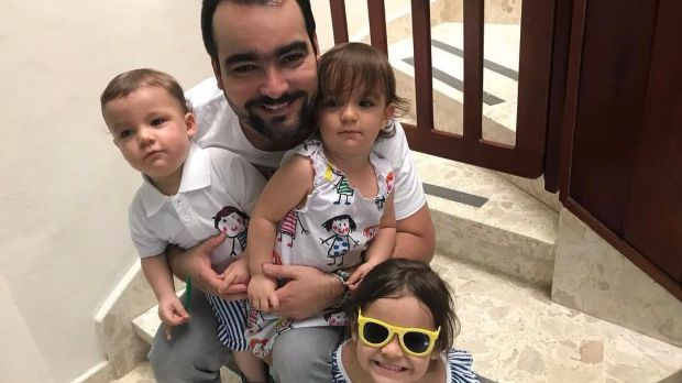Rodolfo Pérez, un #PapaEnamorado que comparte sus vivencias en las redes sociales