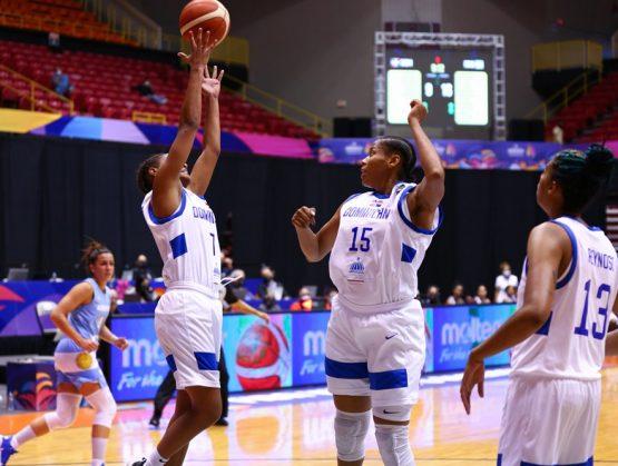 Baloncesto femenino RD cae ante Argentina en inicio de AmeriCup 2021