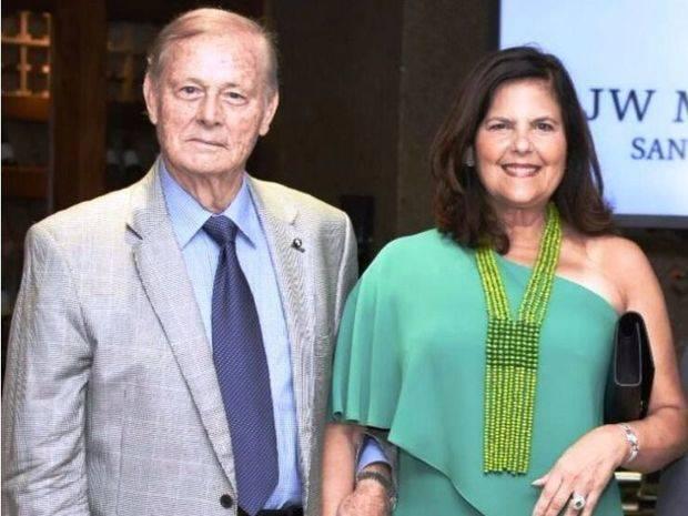 Dedican evento a la pareja Wilhelm Brouwer y Sonia Villanueva
