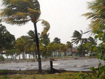 Huracán Irma provoca lluvias e inundaciones en el norte del país